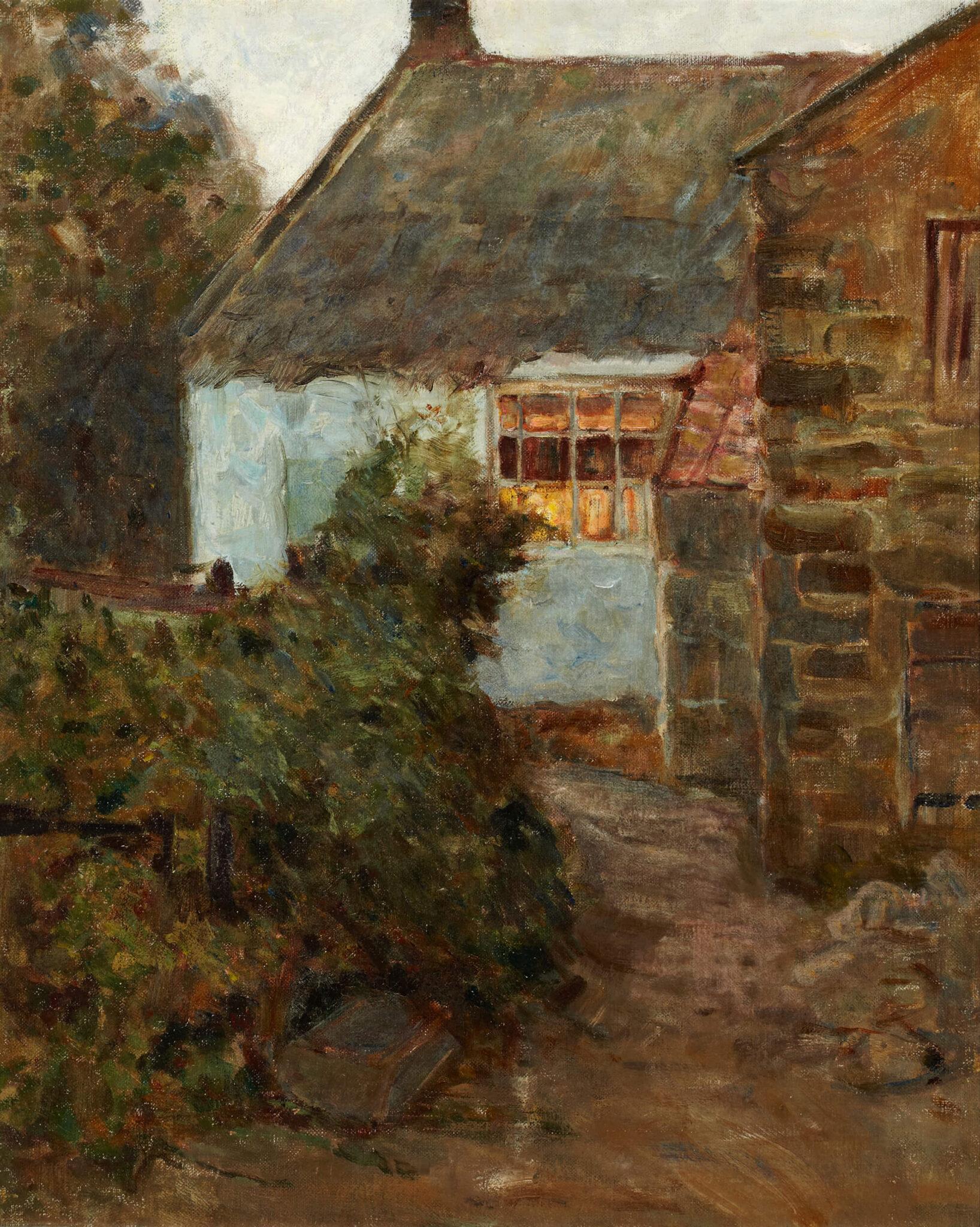 Helen McNicoll, Cottage, Evening, c.1905