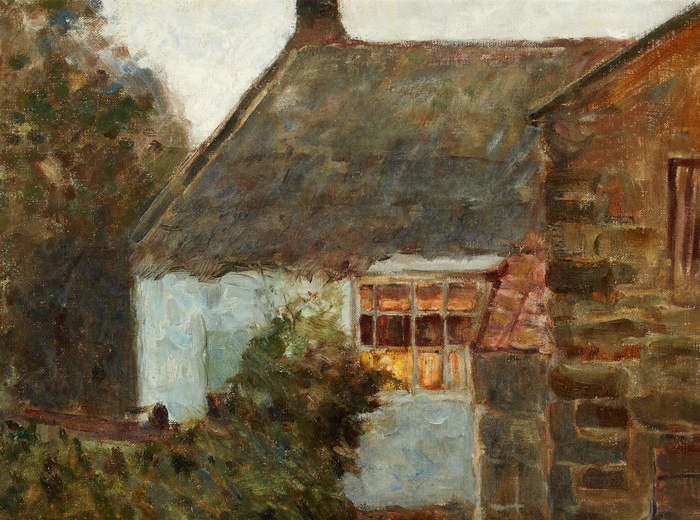 Helen McNicoll, Cottage, Evening, c. 1905