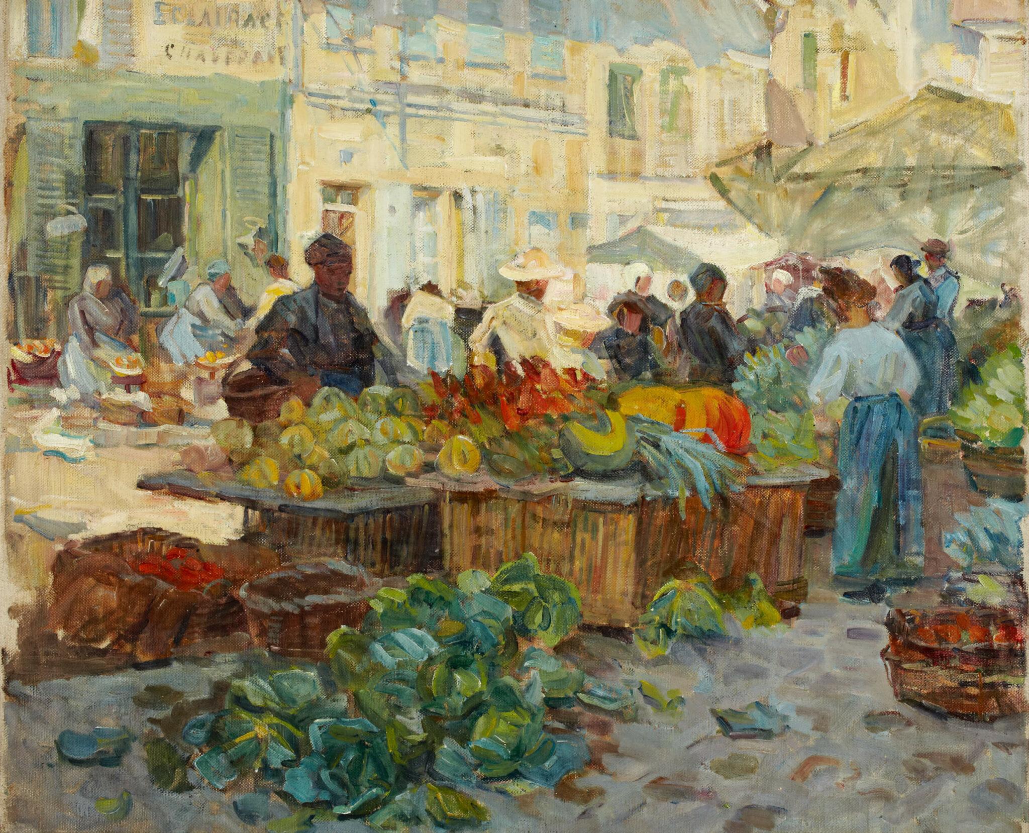 Helen McNicoll, Marketplace, 1910