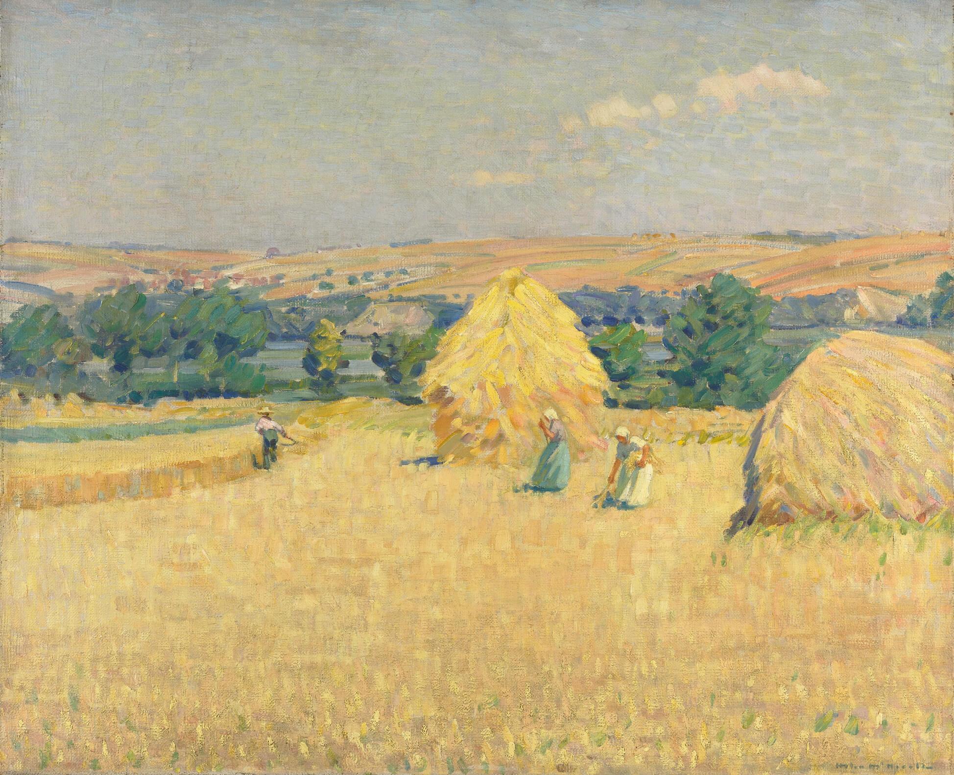 Helen McNicoll, Stubble Fields, c.1912