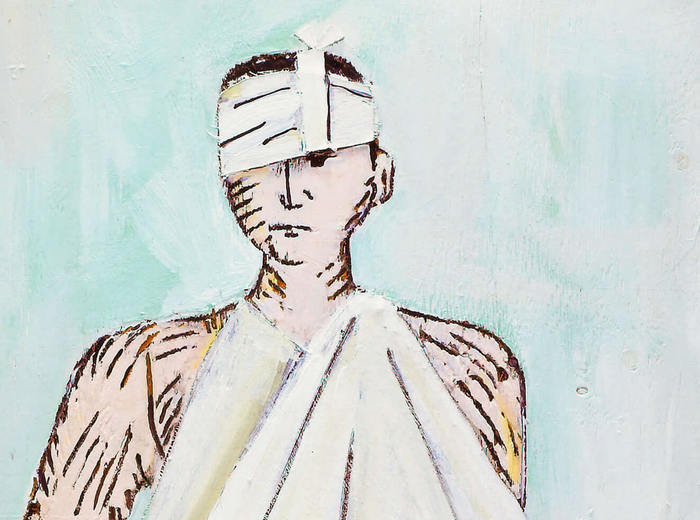 Paterson Ewen, The Bandaged Man, 1973
