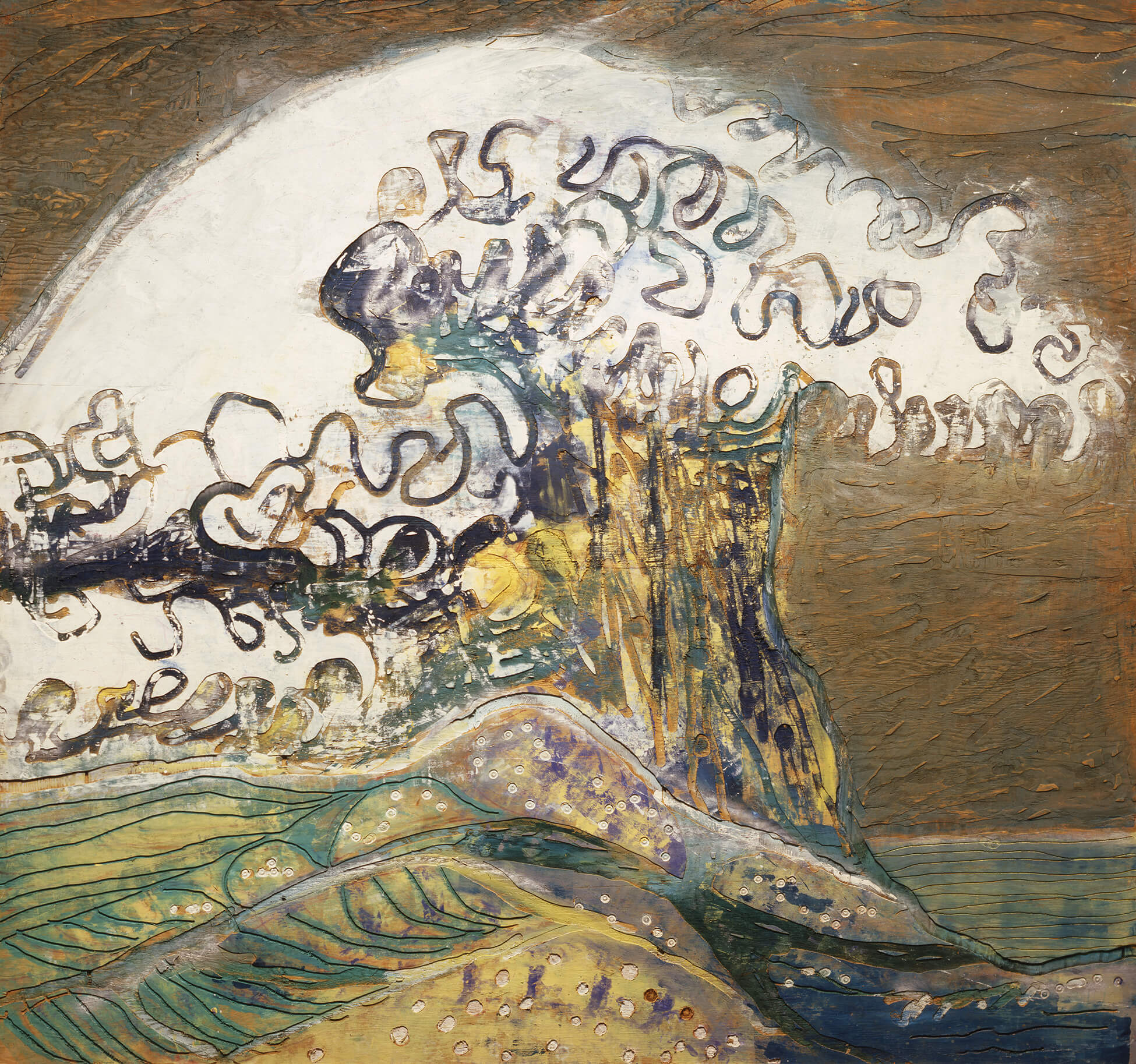 Paterson Ewen, The Great Wave—Homage to Hokusai, 1974