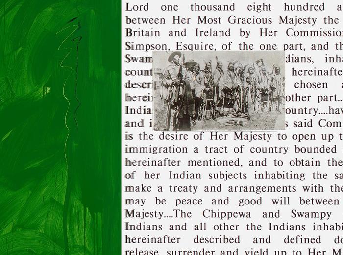 Robert Houle, Prémisses de l'autonomie : Traité no 1, 1994