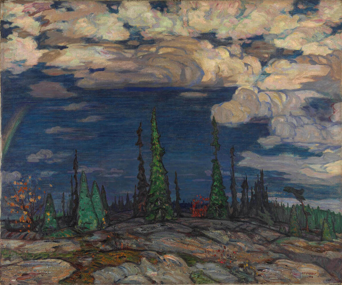 Art Canada Institute, A.Y. Jackson, Terre Sauvage, 1913