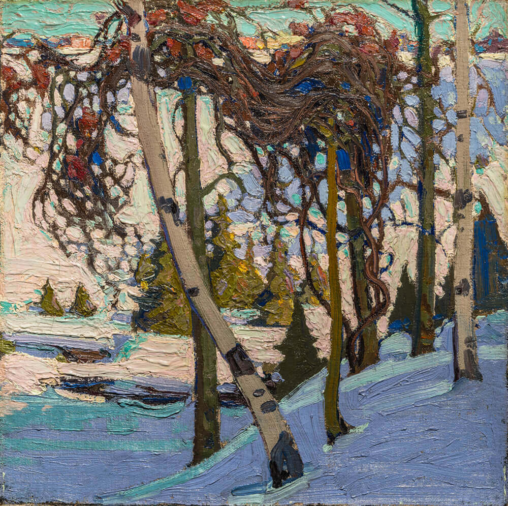 Art Canada Institute, Tom Thomson, Early Snow, 1916–17