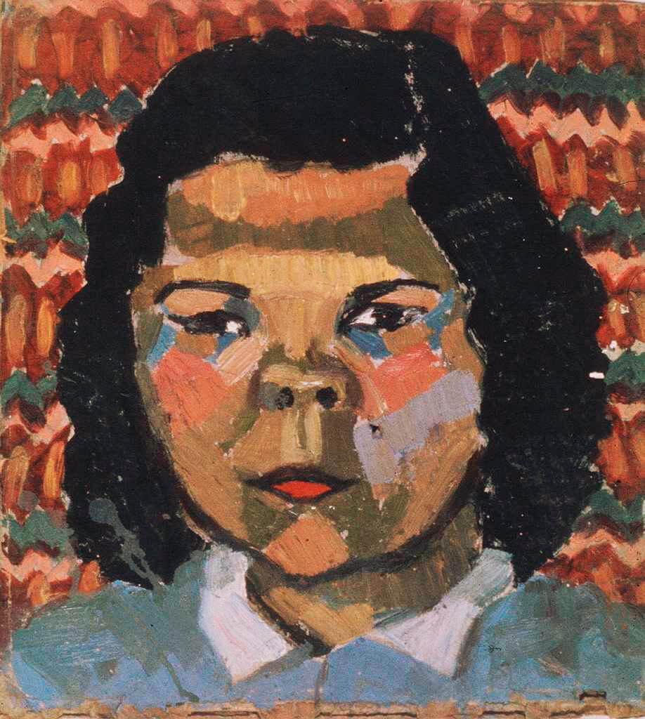 Tête amérindienne I, 1941