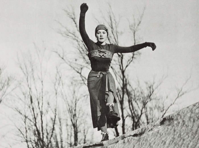 Danse dans la neige, 1948