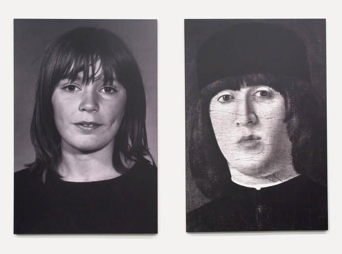 Portraits de personnes qui se ressemblent, 1971