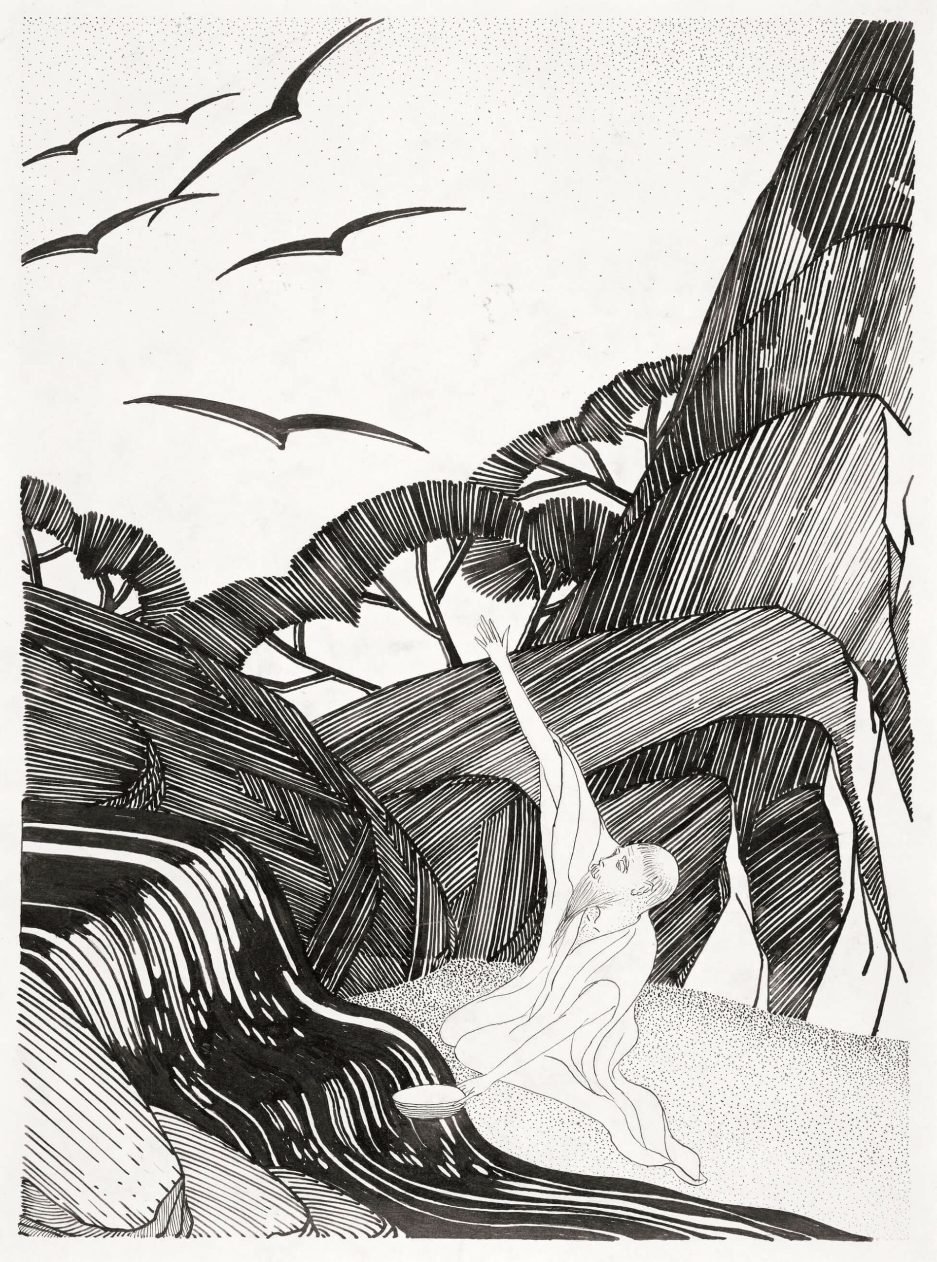 Bertram Brooker, Elijah, 1929
