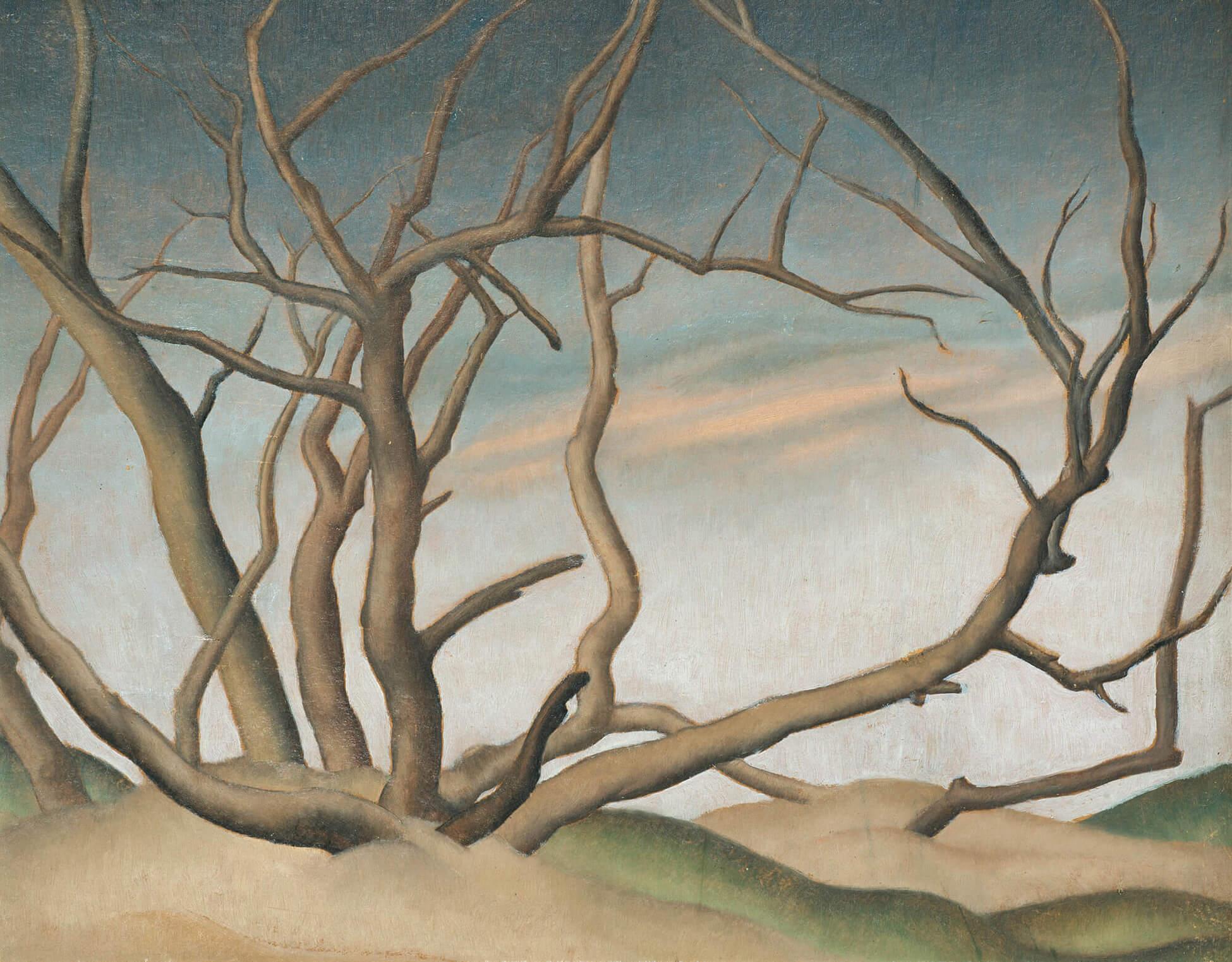Bertram Brooker, Manitoba Willows, c.1929–31