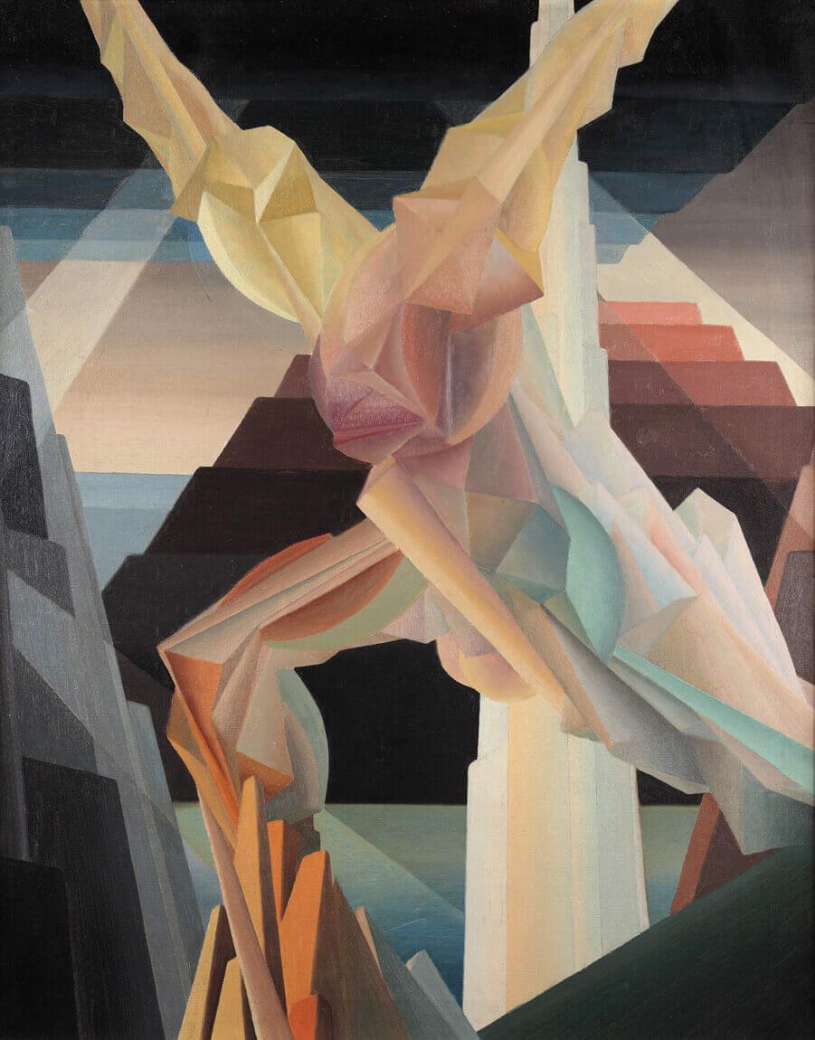 Bertram Brooker, Striving, c.1930