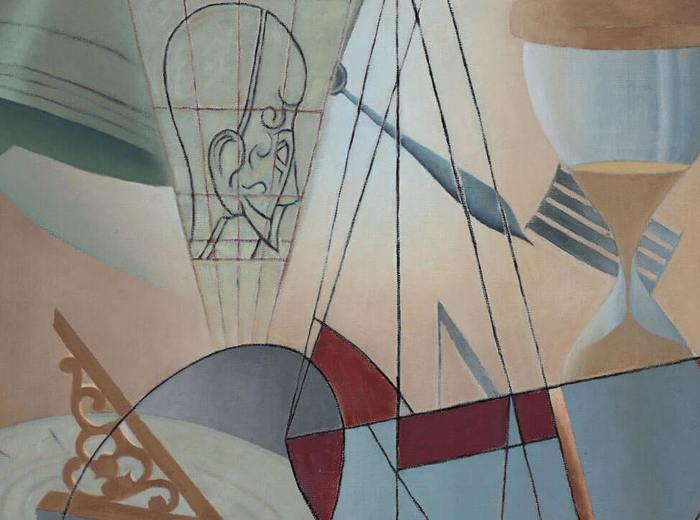 Bertram Brooker, Swing of Time, 1954