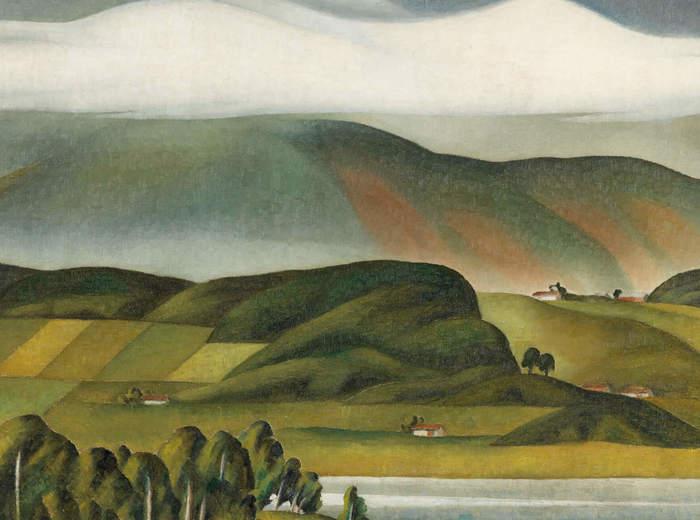 Bertram Brooker, The Cloud, c.1942