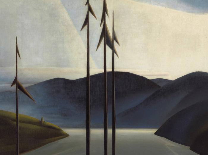 Bertram Brooker, The St. Lawrence, 1931