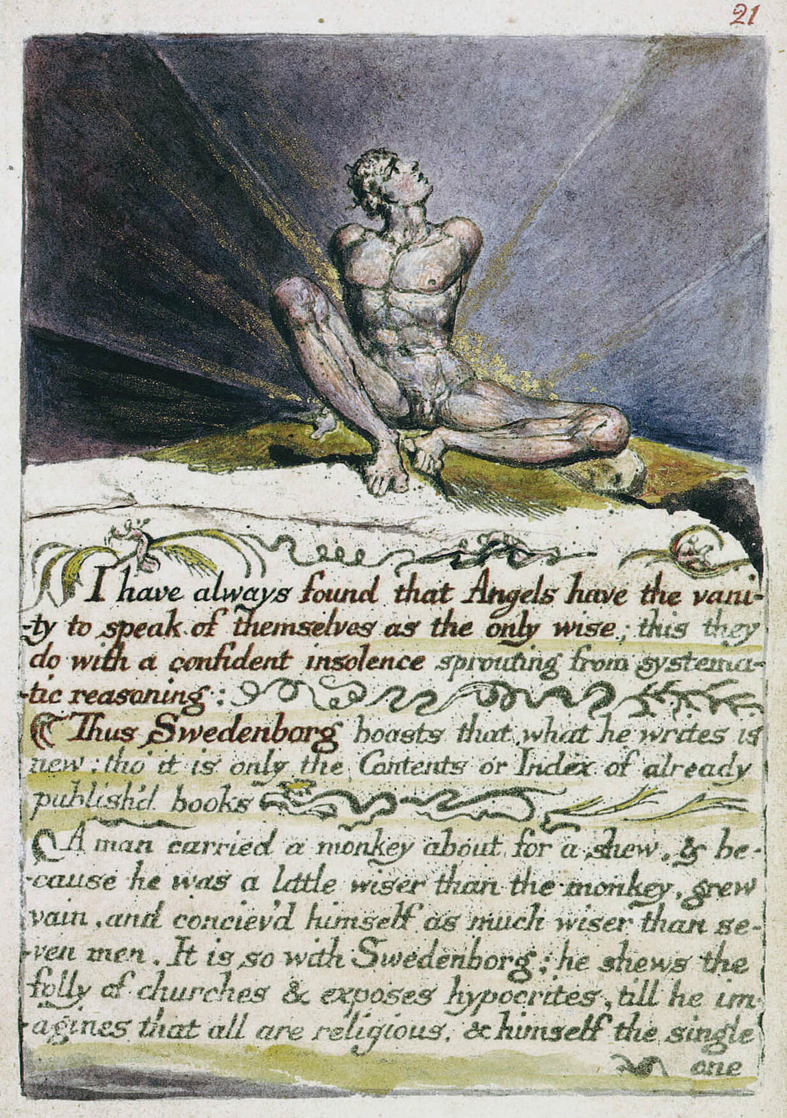 William Blake, The Marriage of Heaven and Hell (1790)