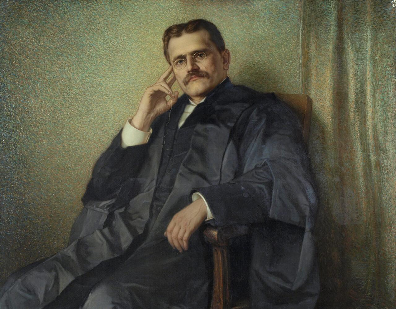 Ozias Leduc, Portrait of the Honourable Louis-Philippe Brodeur (Portrait de l'honorable Louis-Philippe Brodeur), 1901–4