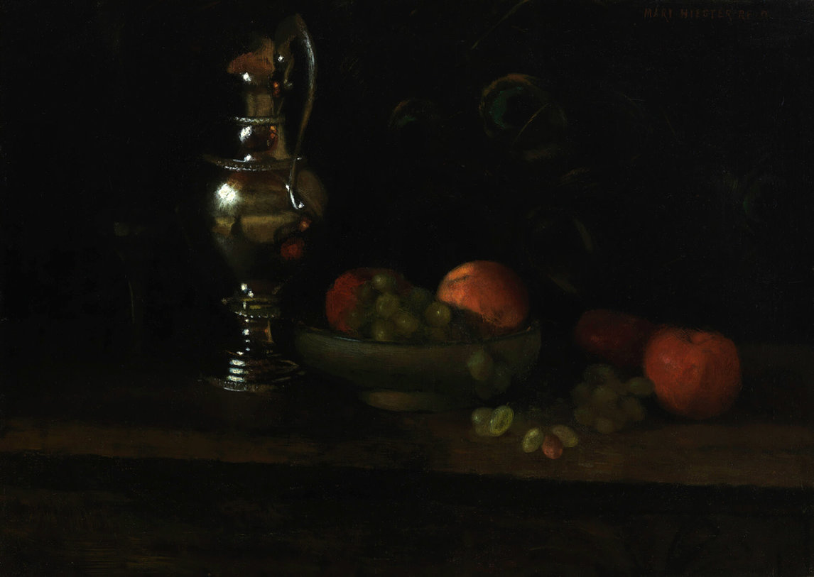 Mary Hiester Reid, Still Life with Silver Pitcher, n.d.