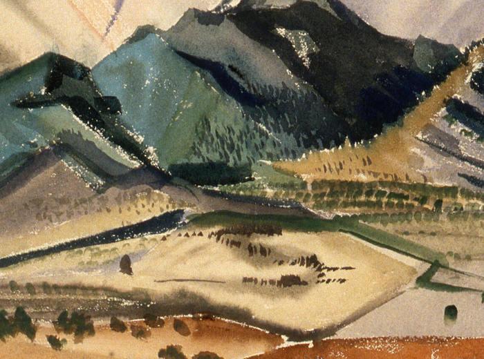 New Mexico Mountain Landscape, Taos