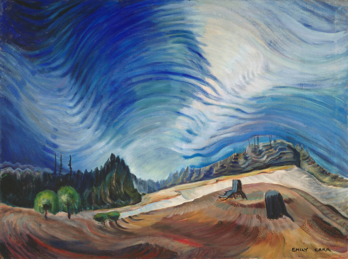 Emily Carr,Above the Gravel Pit, 1937