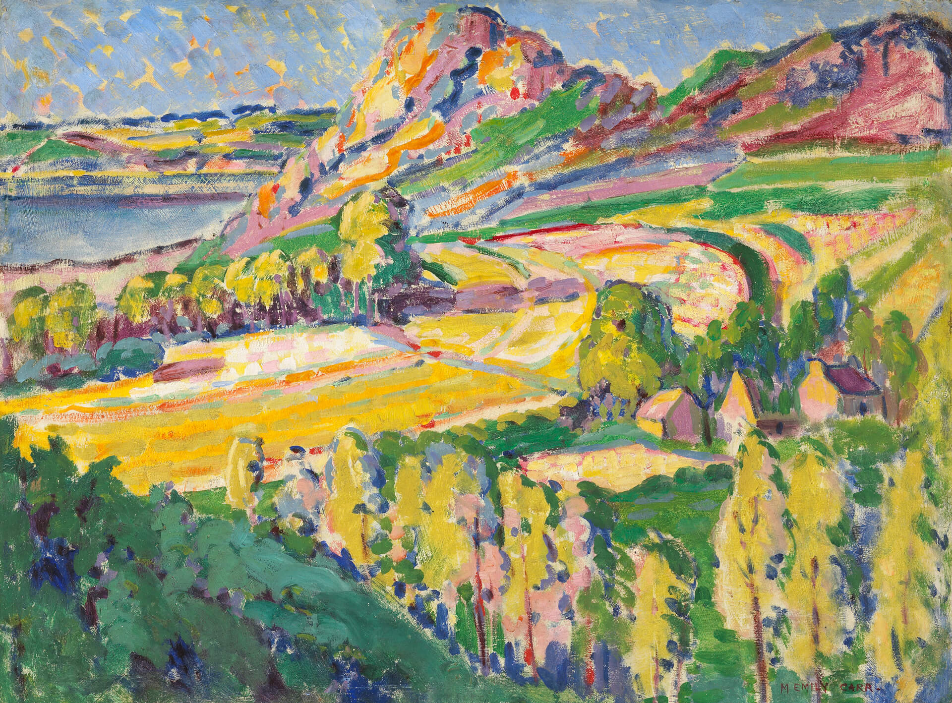 Emily Carr,Autumn in France, 1911