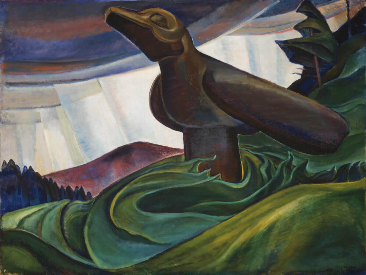 Emily Carr,Big Raven, 1931