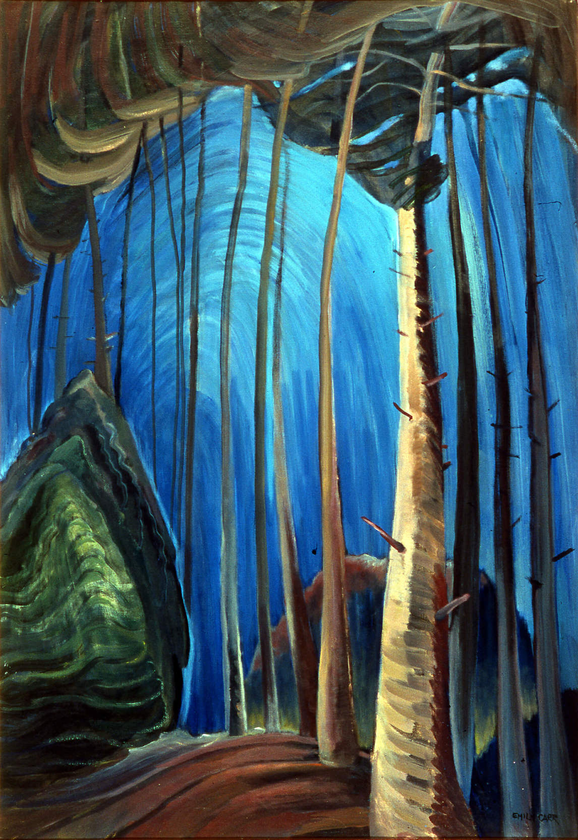 Art Canada Institute, Emily Carr, Blue Sky, 1936