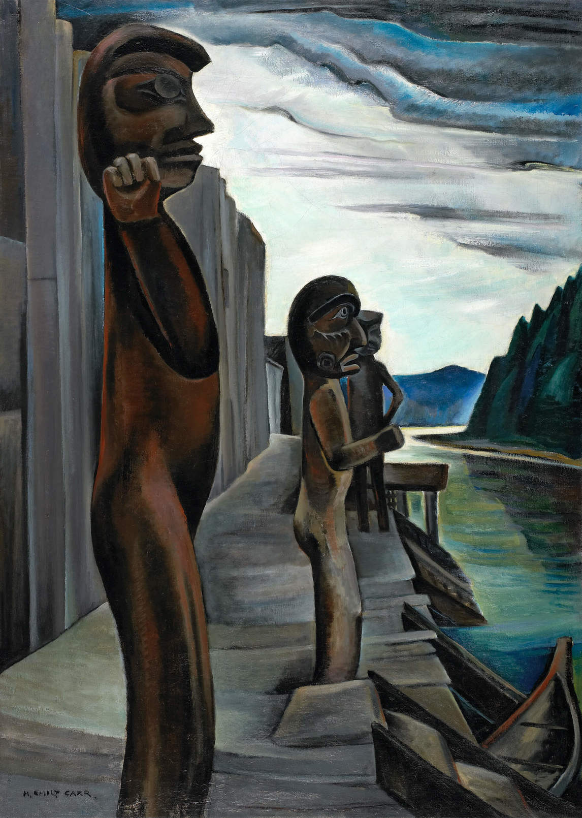 Art Canada Institute, Emily Carr, Blunden Harbour, c. 1930