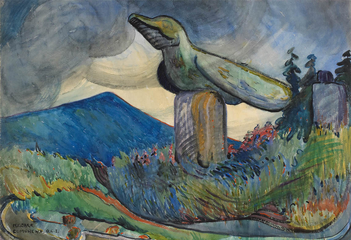 Art Canada Institute, Emily Carr, Cumshewa, 1912