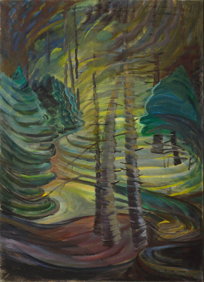 Art Canada Institute, Emily Carr, Dancing Sunlight, c. 1937