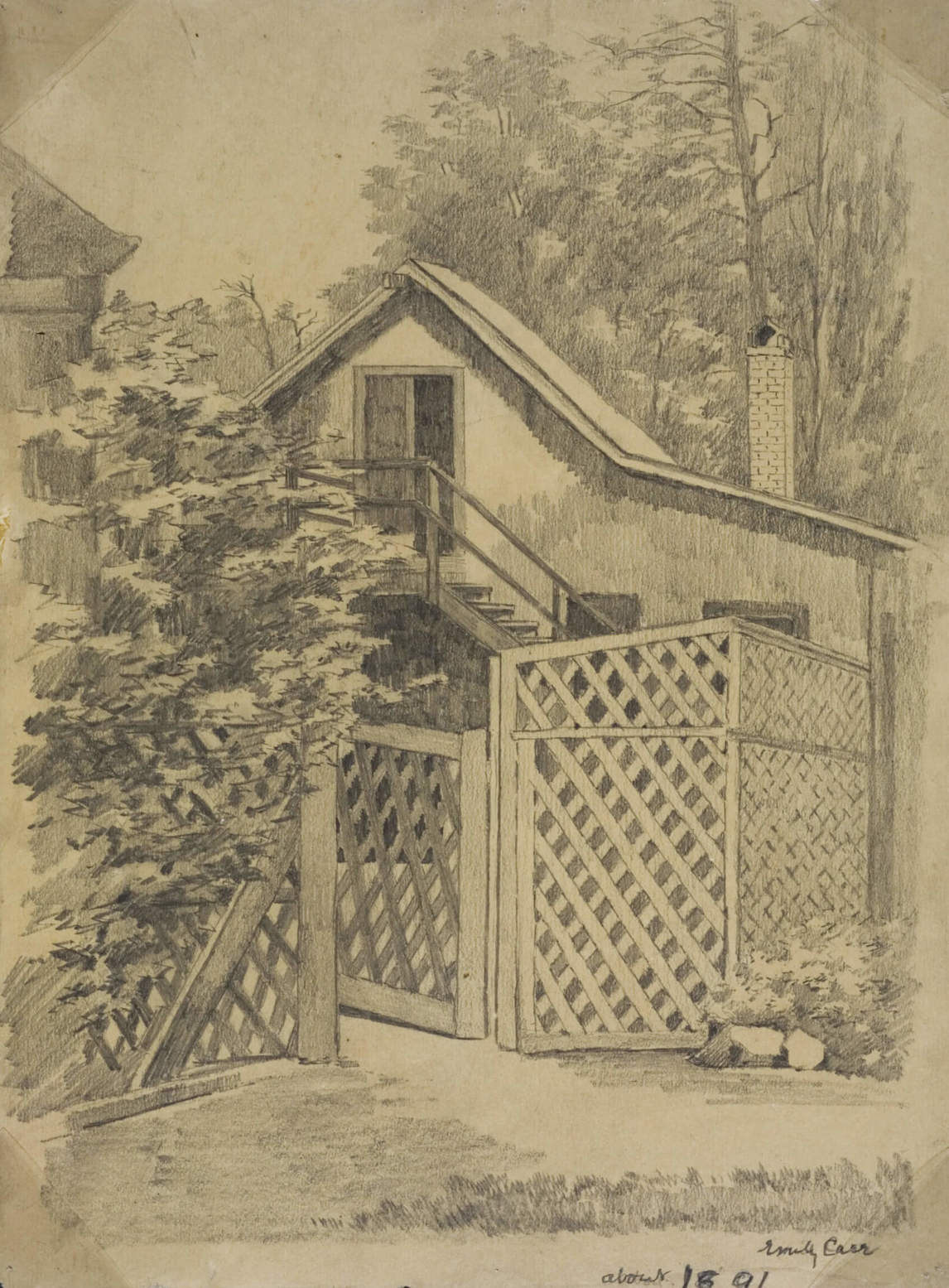 Art Canada Institute, Emily Carr, Emily's Old Barn Studio, c. 1891