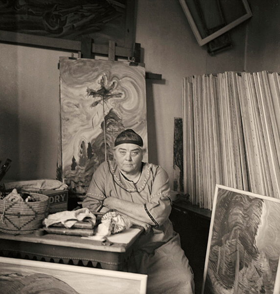 Art Canada Institute, Harold Mortimer-Lamb, Emily Carr in Her Studio, 1939