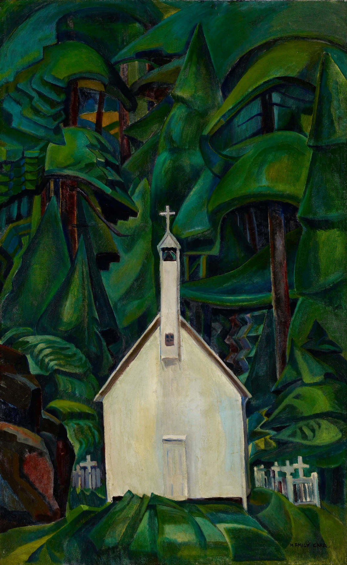 Art Canada Institute, Emily Carr, Indian Church, 1929