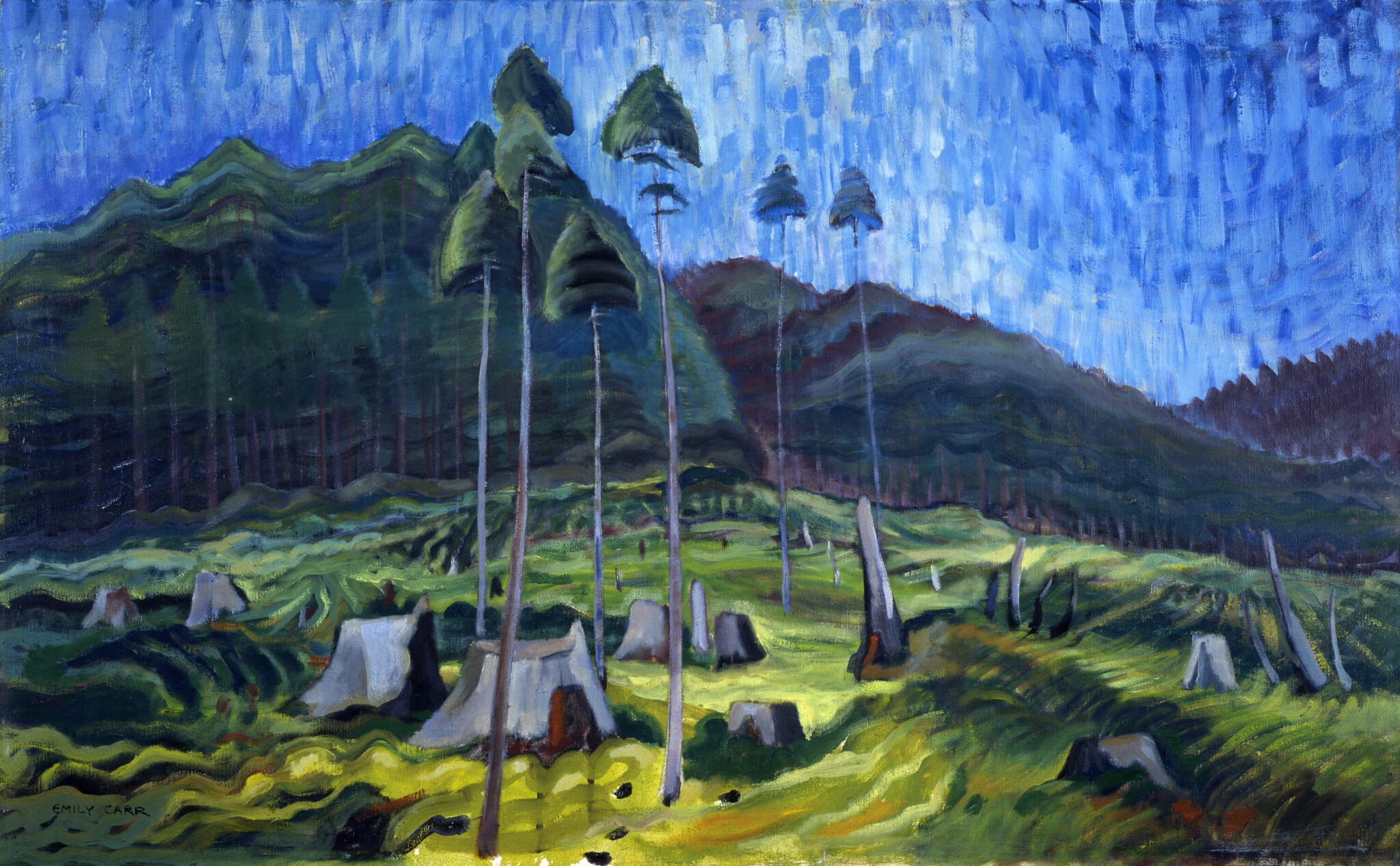 Emily Carr, Odds and Ends, 1939