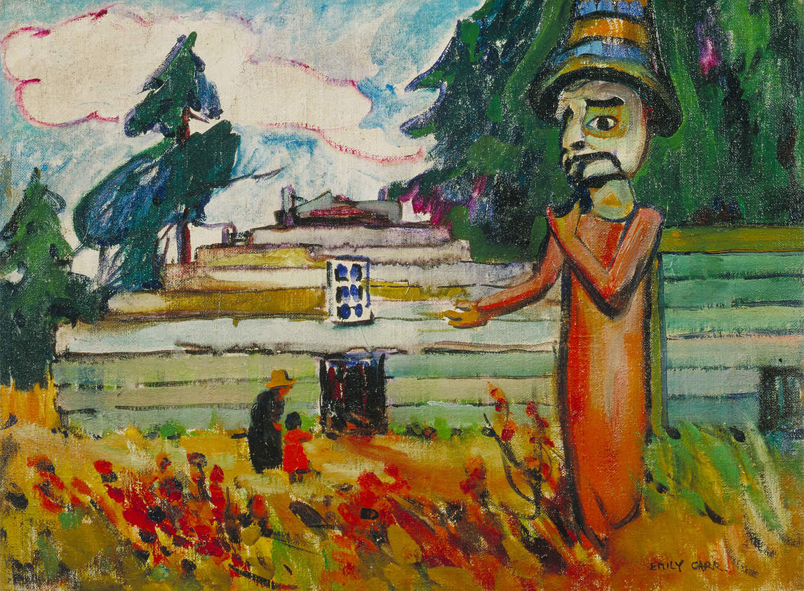 Art Canada Institute, Emily Carr, Potlatch Figure (Mimquimlees), 1912
