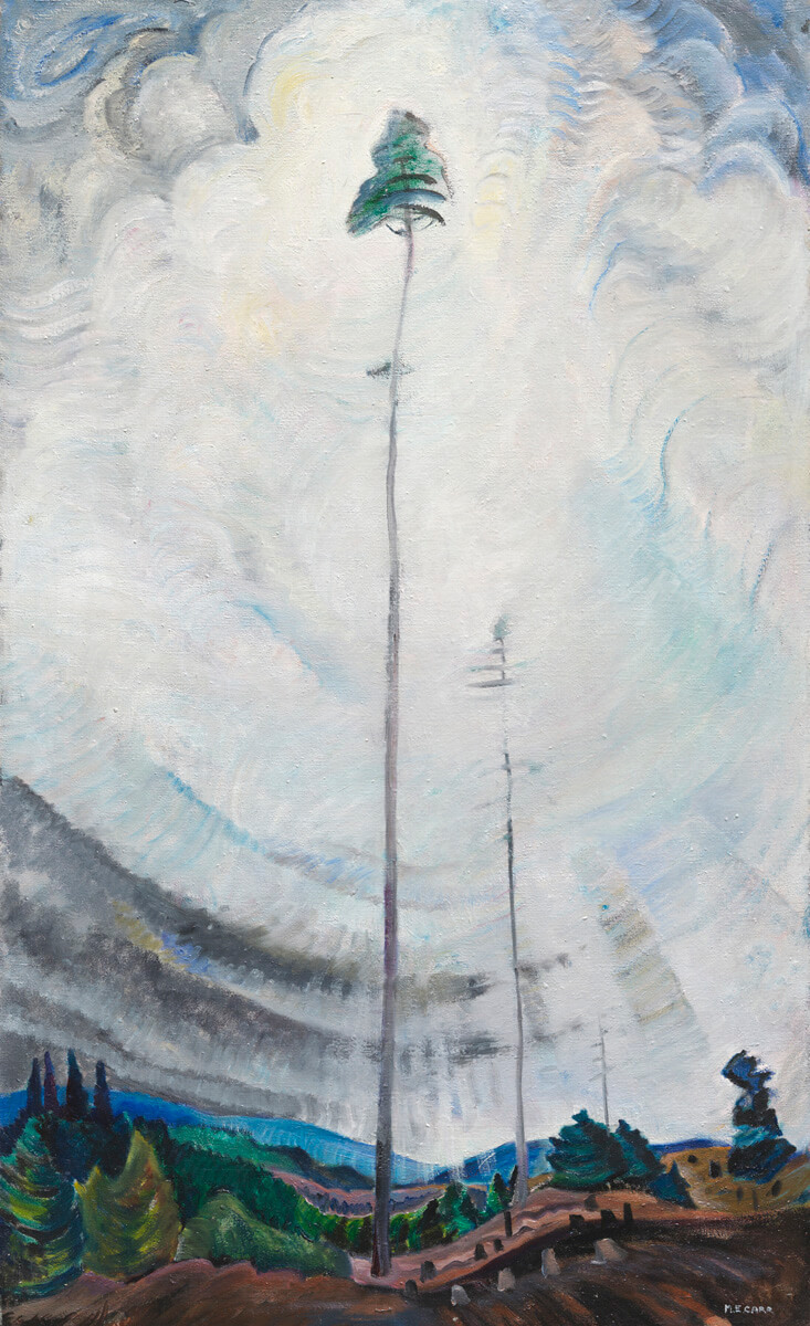 Art Canada Institute, Emily Carr, Scorned as Timber, Beloved of the Sky, 1935