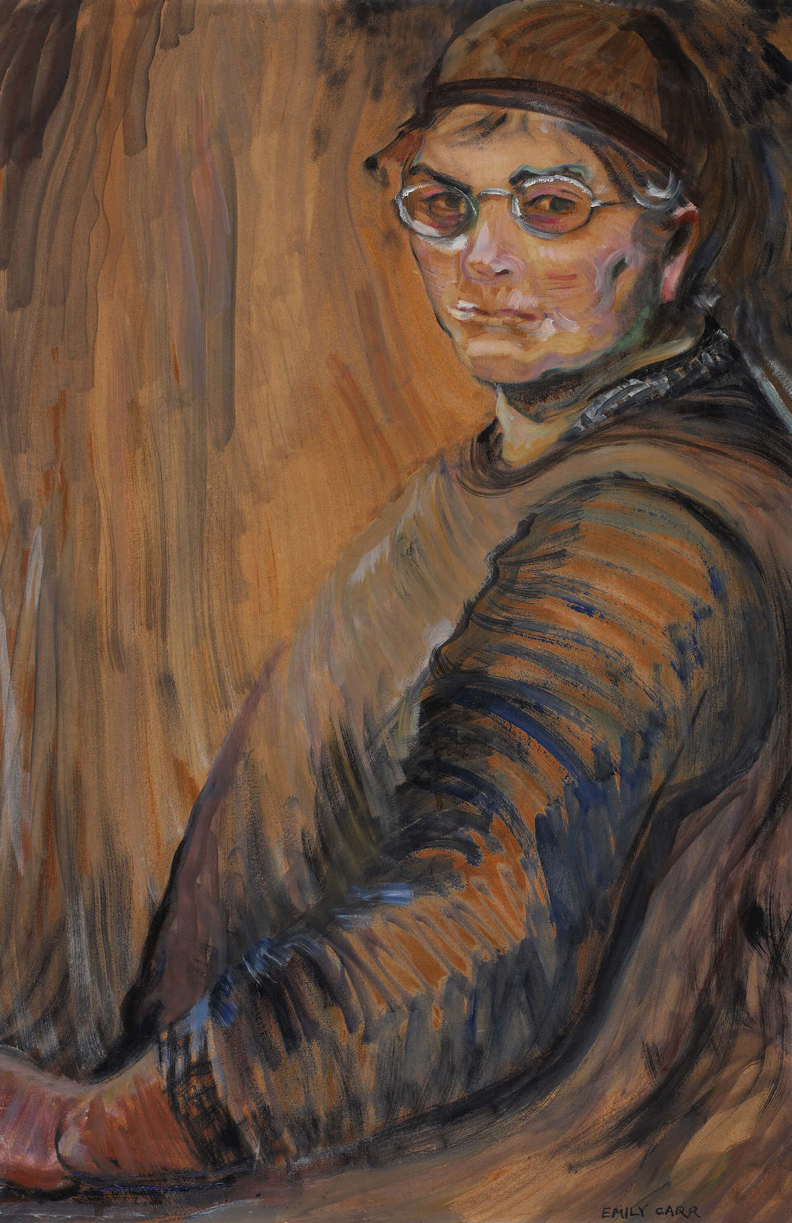 Art Canada Institute, Emily Carr, Self-Portrait, 1938–39