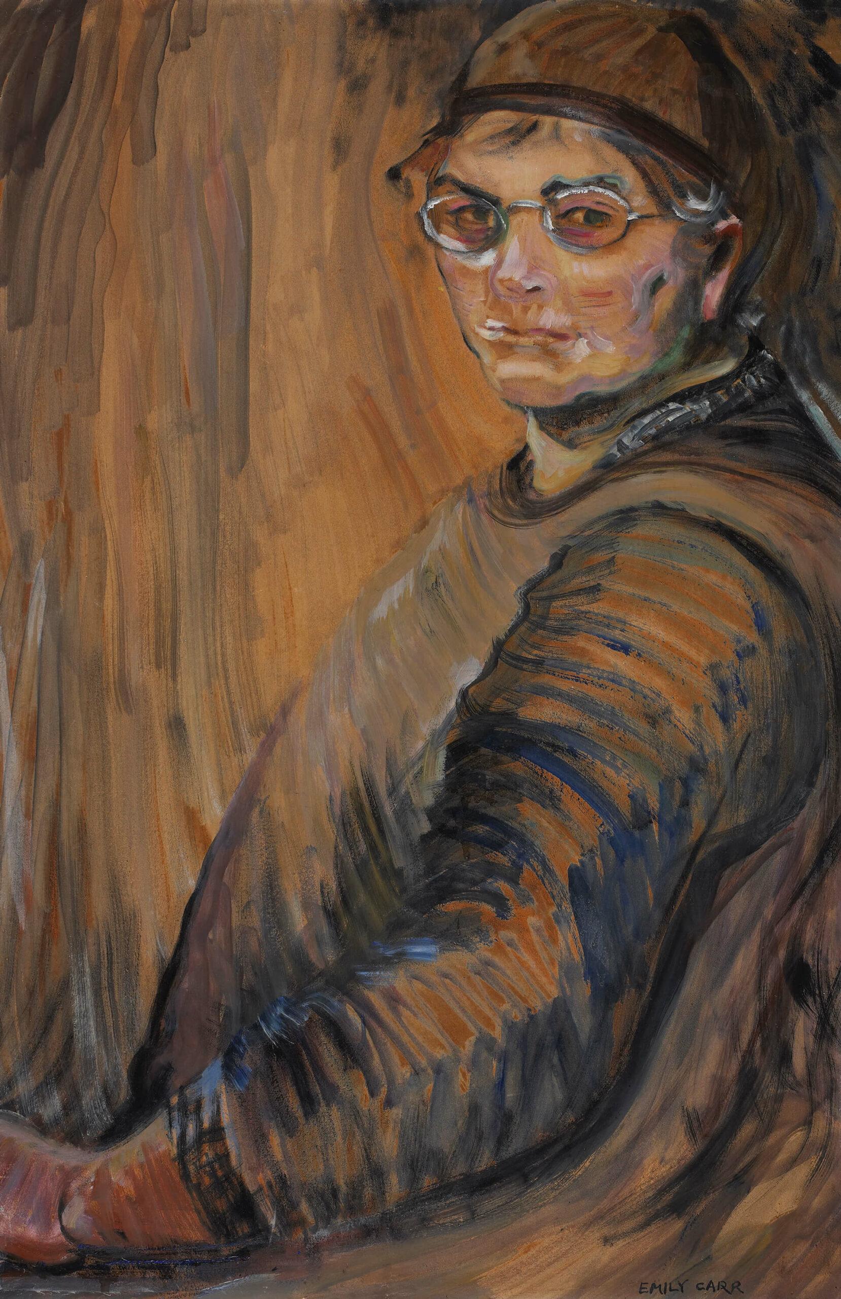 Emily Carr,Self-Portrait, 1938–39