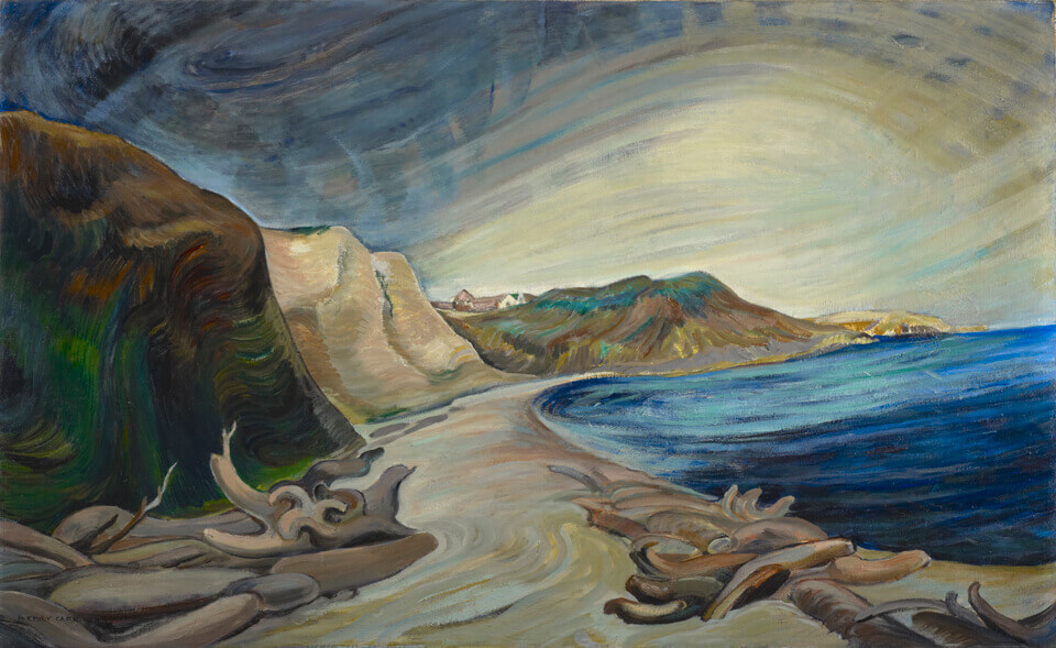 Art Canada Institute, Emily Carr, Shoreline, 1936