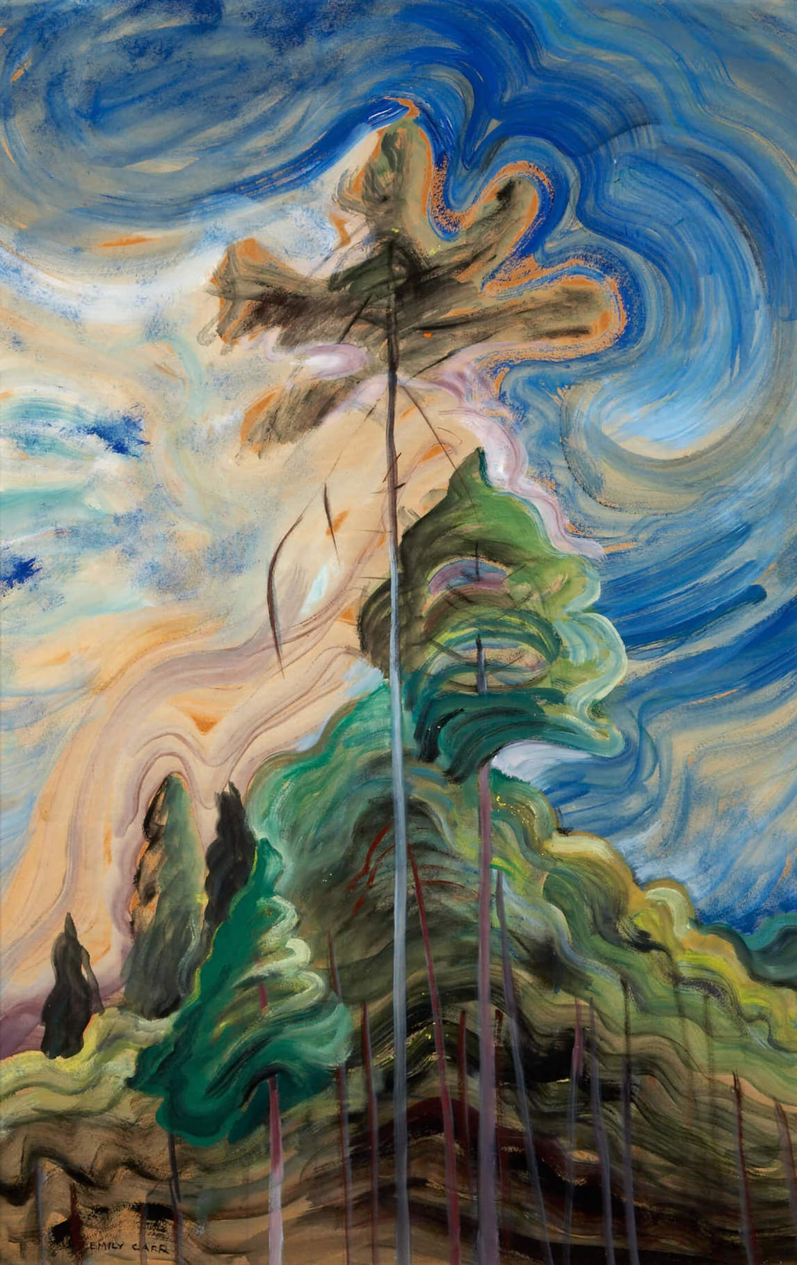 Art Canada Institute, Emily Carr, Sunshine and Tumult, 1938–39