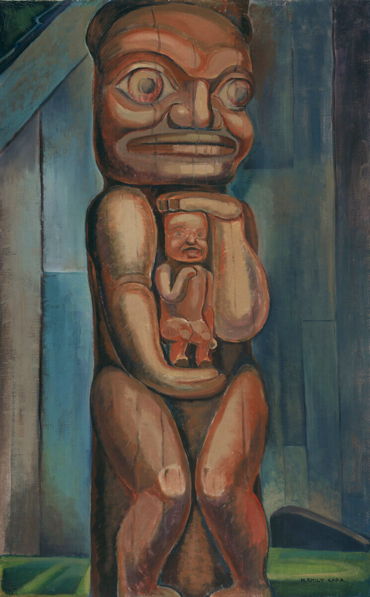 Art Canada Institute, Emily Carr, Totem Mother, Kitwancool, 1928