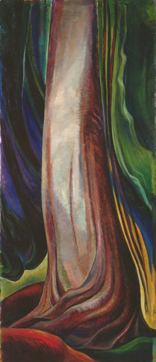 Art Canada Institute, Emily Carr, Tree Trunk, 1931