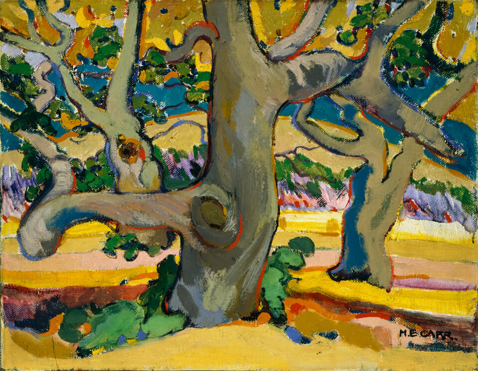 Art Canada Institute, Emily Carr, Trees in France, c. 1911