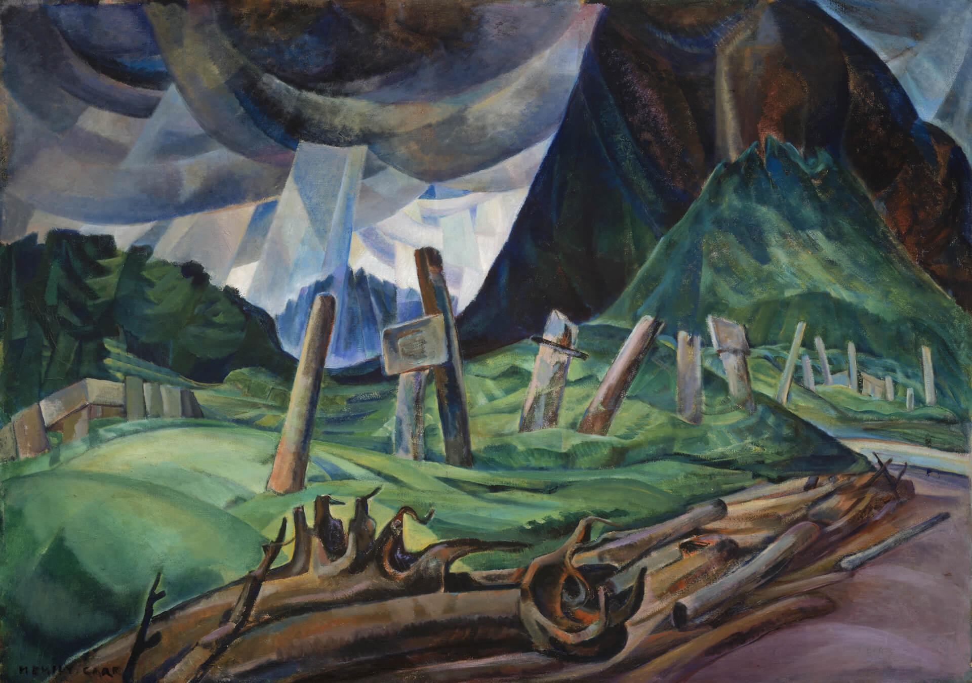 Emily Carr,Vaincu, 1930