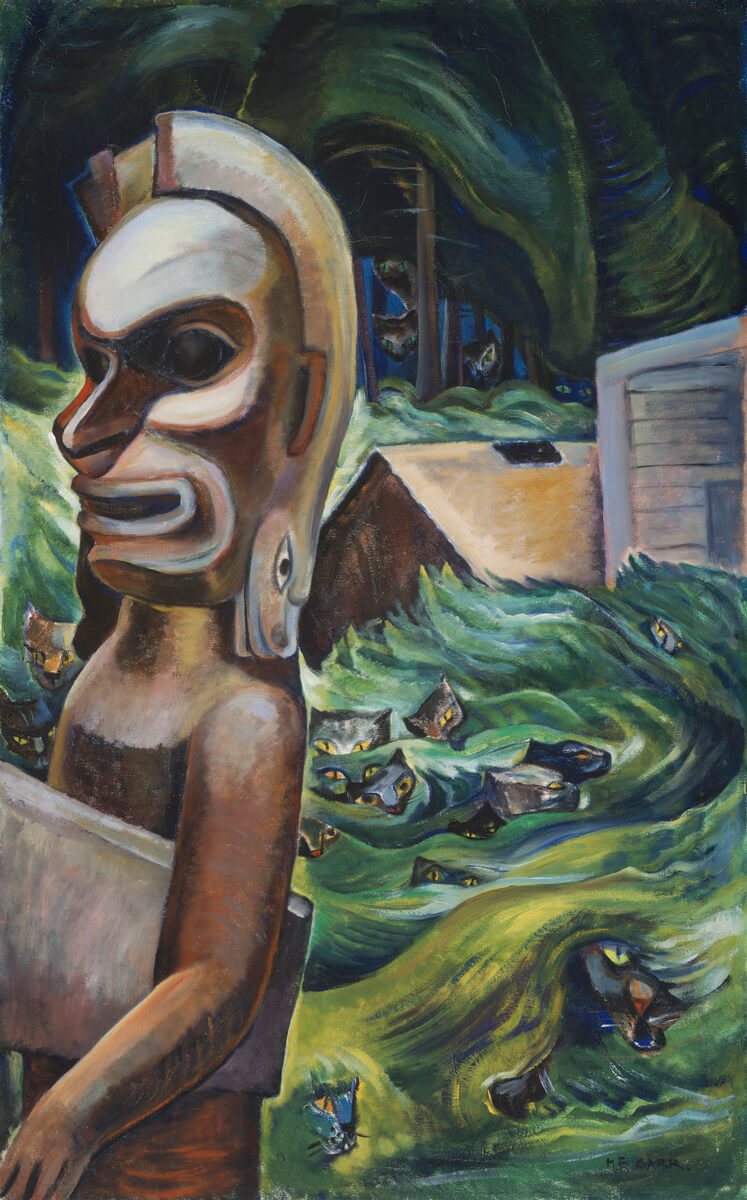 Art Canada Institute, Emily Carr, Zunoqua of the Cat Village, 1931