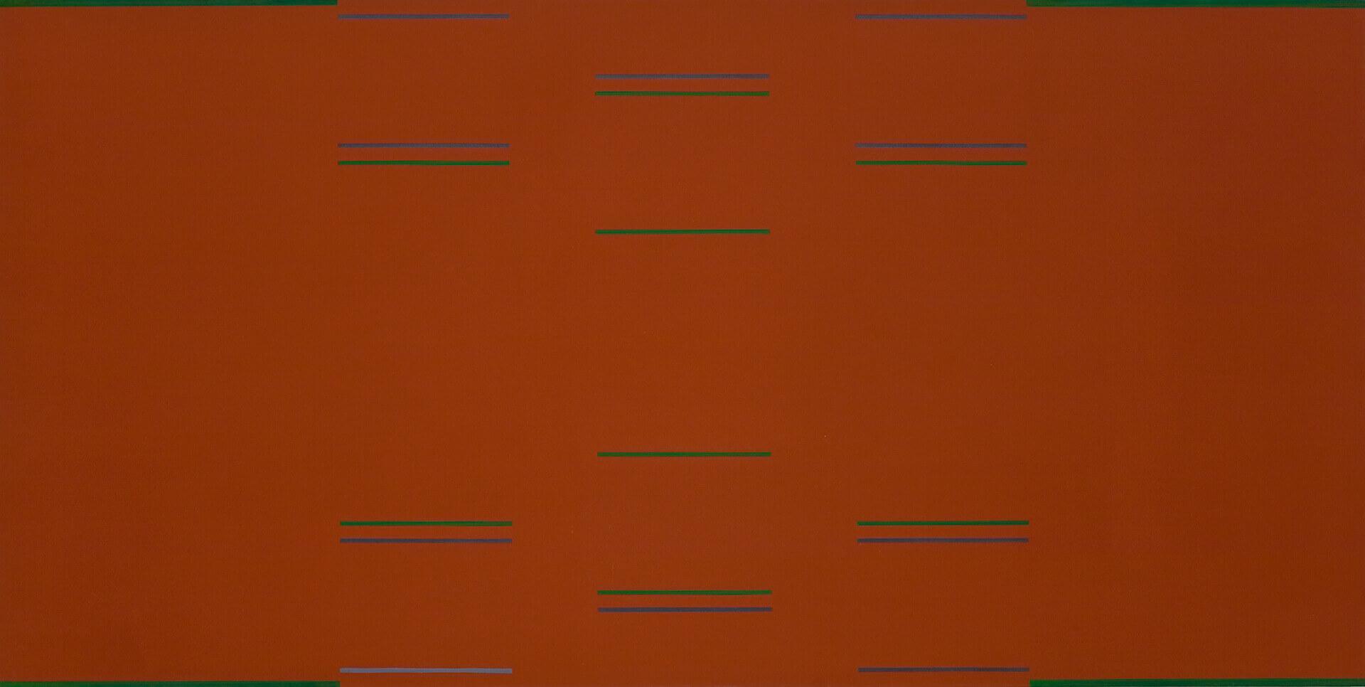 Yves Gaucher,Dusk, Calm, Signals, 1966