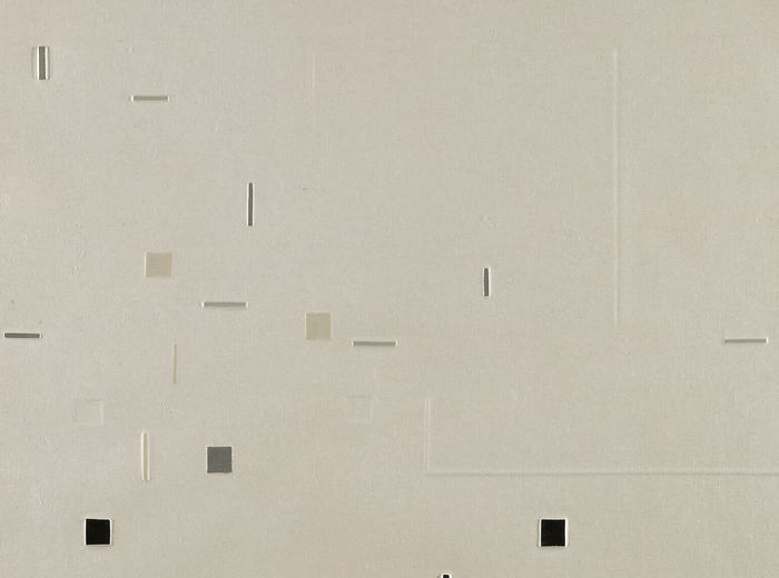 Yves Gaucher,In Homage to Webern No. 2, 1963