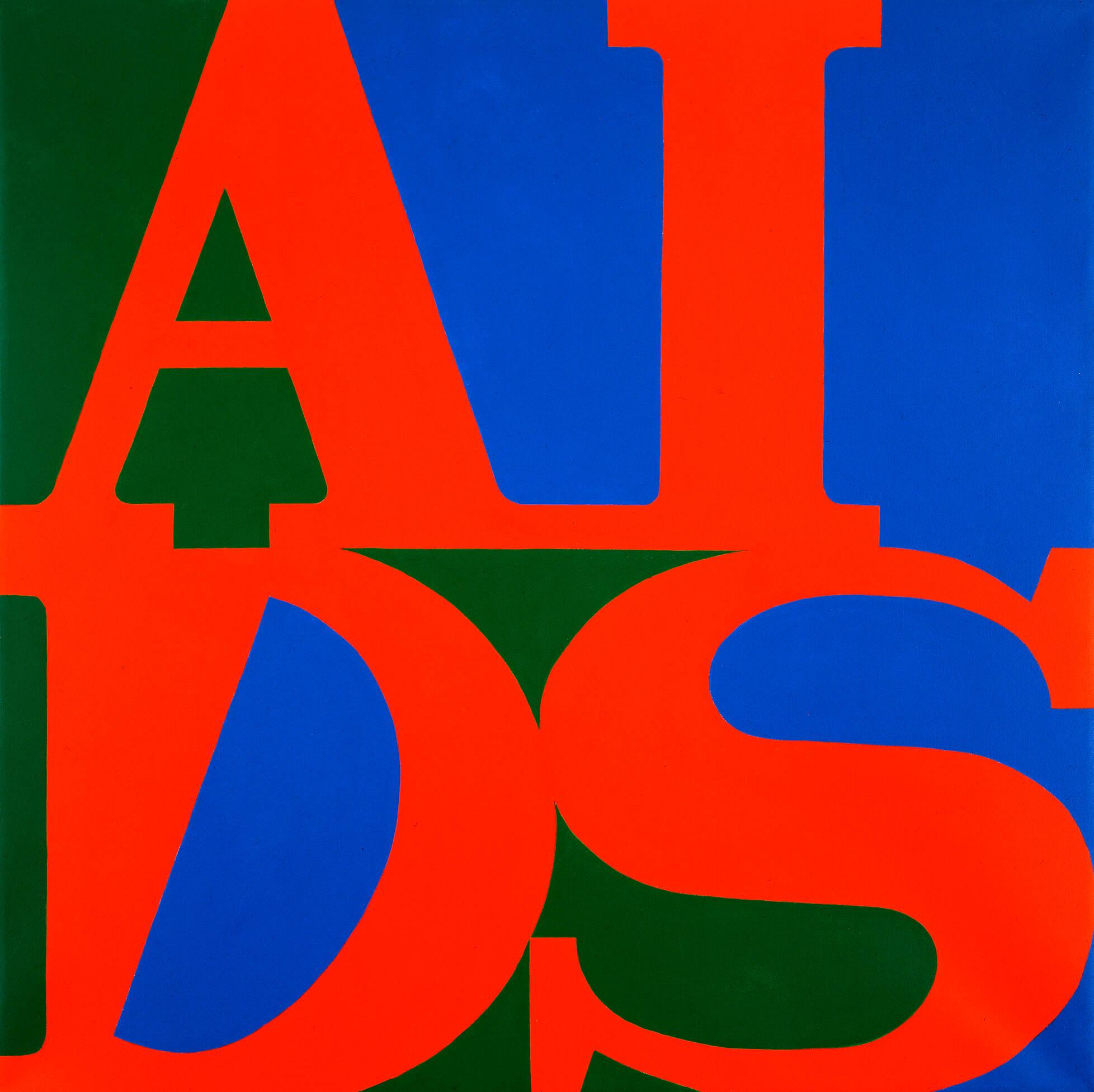 General Idea, SIDA, 1987