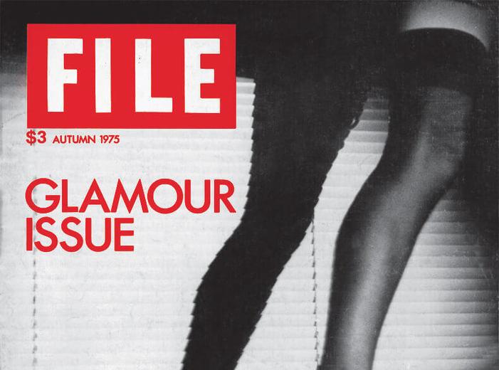 General Idea, FILE Megazine, « Édition Glamour », 1975