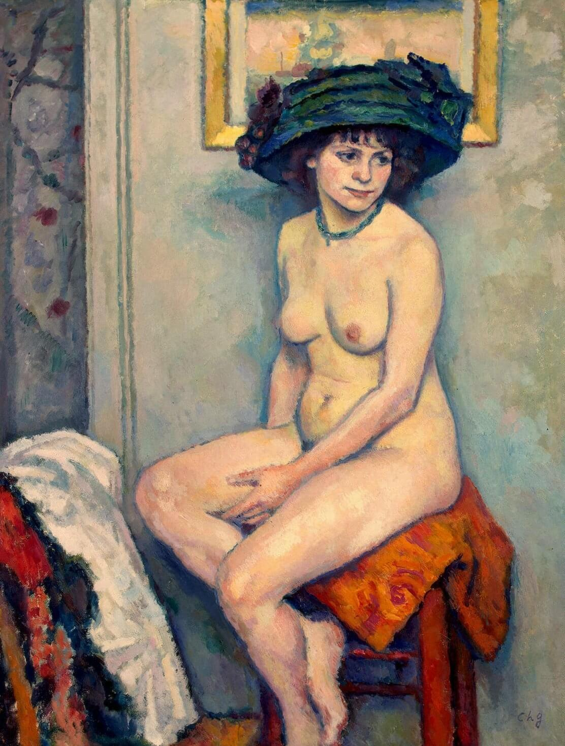Art Canada Institute, Charles Guérin, Nude, 1907