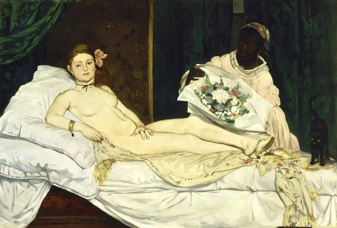 Art Canada Institute, Édouard Manet, Olympia, 1863